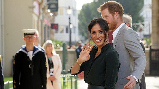 الأمير هاري وميغان، دوقة ساسكس، يزوران مبنى بافيليون في برايتون، إنجلترا، الأربعاء 3 أكتوبر 2018