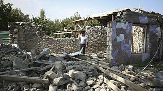 تخریب مناطق مسکونی در جریان مناقشه مناقشه قره باغ-ناگورنو