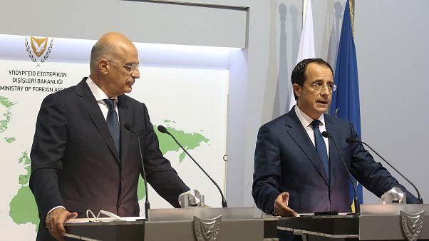 Οι ΥΠΕΞ Κύπρου και Ελλάδας