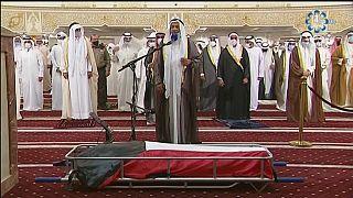 صلاة الجنازة على روح أمير الكويت الراحل الشيخ صباح الأحمد الصباح - الكويت -  2020/09/30