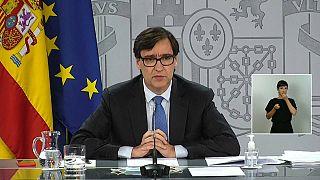 Salvador Illa, ministro de Sanidad español