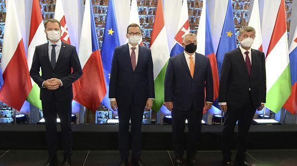 Встреча глав стран Вышеградской группы
