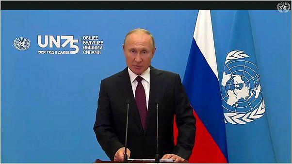 من كلمة بوتين للأمم المتحدة