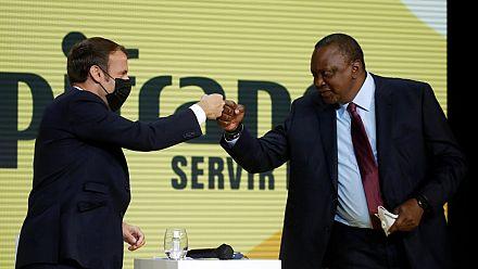 Uhuru Kenyatta reçu par Macron, contrats à la clé