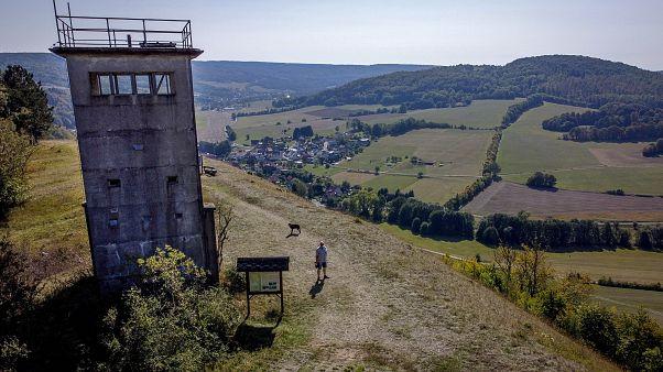 Verlassener Grenzturm in Unterweid, Thüringen