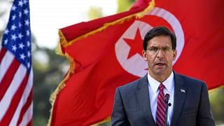 Tunisia signs 10-year military deal with US