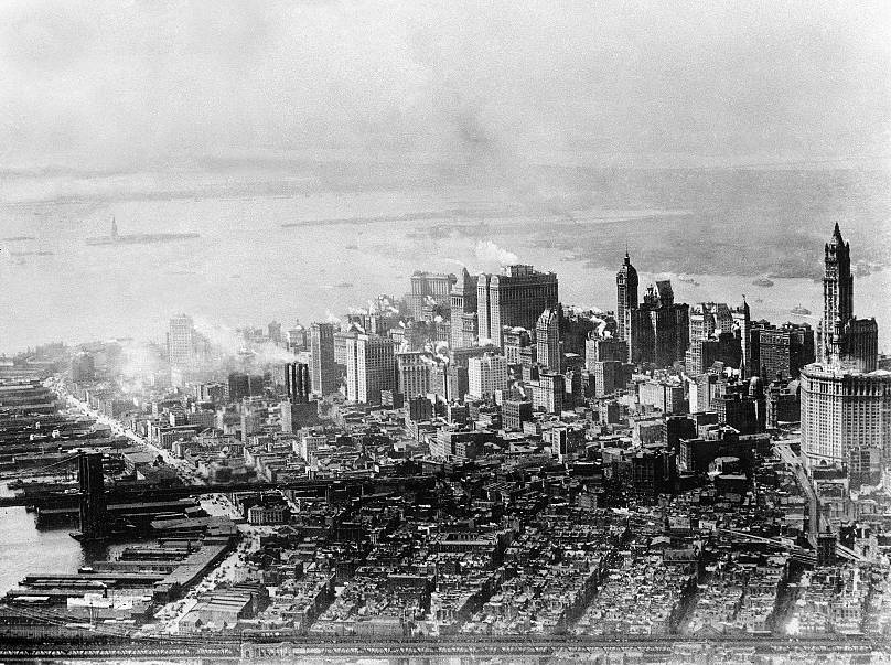 Lower Manhattan - 1928