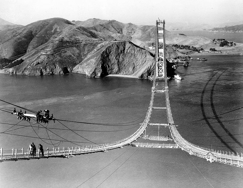 Podul Golden Gate - 1935