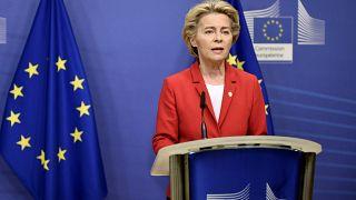 Η πρόεδρος της Ευρωπαϊκής Επιτροπής, Ούρσουλα φον ντερ Λάιεν
