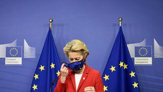 رئيسة المفوضية الأوروبية أورسلا فون دير لاين