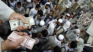 سرای شاهزاده، بازار ارز کابل