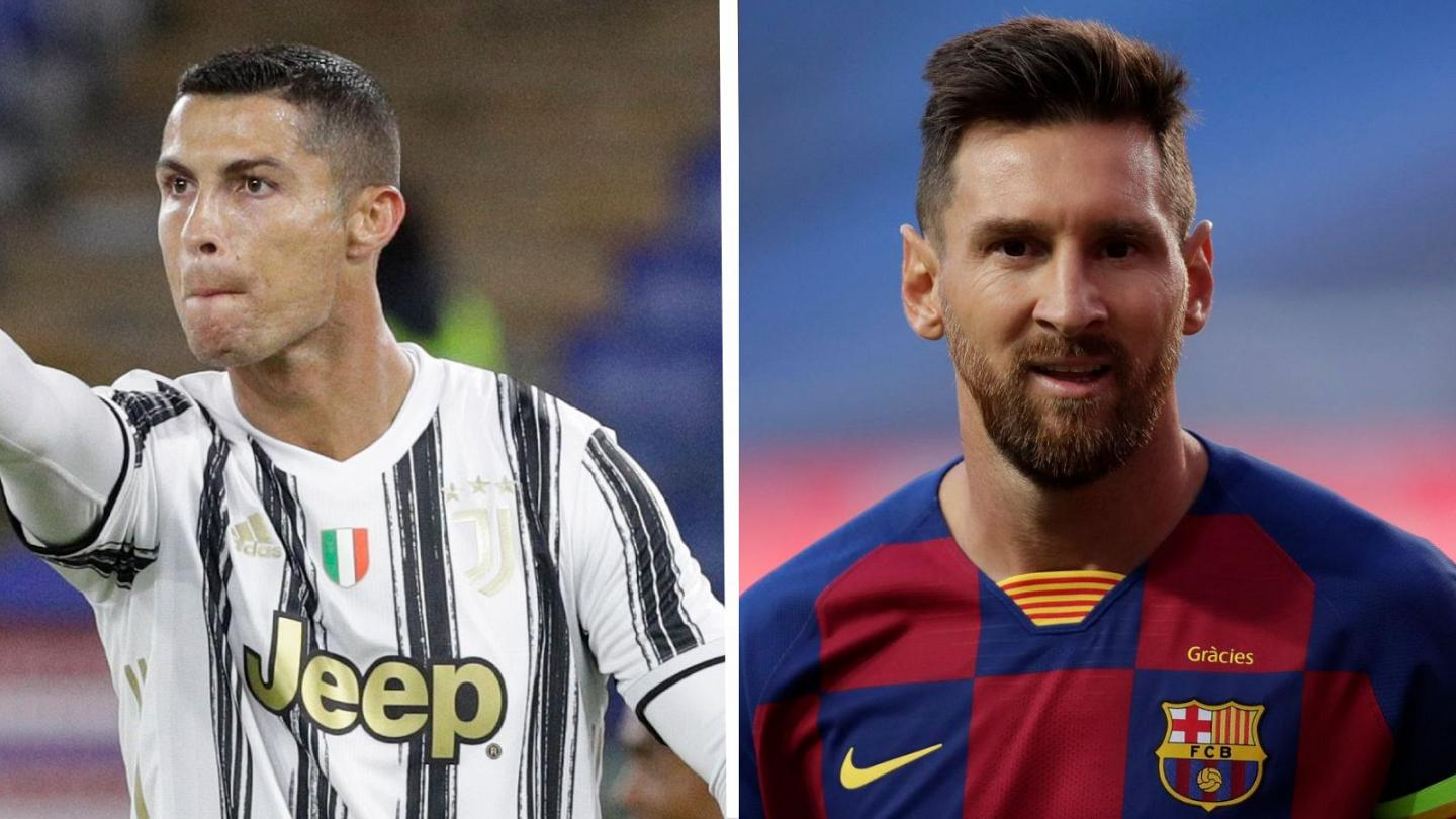 ronaldo s juventus face messi s barcelona in uefa champions league group stage euronews euronews