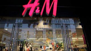 متجر H&M في نيويورك،  31 مايو 2013