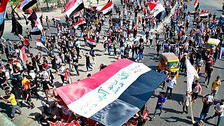 تظاهرات در بغداد و دیگر شهرهای عراق در سالگرد «انقلاب»