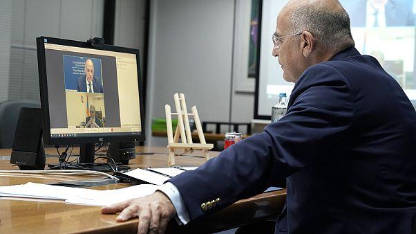 Η τηλεδιάσκεψη του Νίκου Δένδια με τον ομόλογό του της Αρμενίας