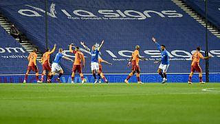 Galatasaray, Rangers'a yenilerek UEFA Avrupa Ligi'ne veda etti