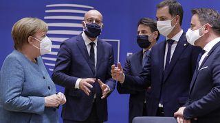 German Chancellor Angela Merkel, EU summit Brussels, October 1 2020
