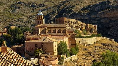 Spain is home to hundreds of fairytale villages like Albarracín in Teruel.