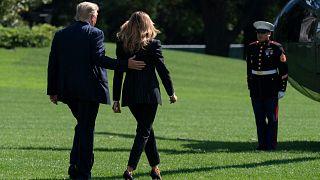 ABD Başkanı Trump ile eşi Melania Trump'ın Covid-19 testi pozitif çıktı