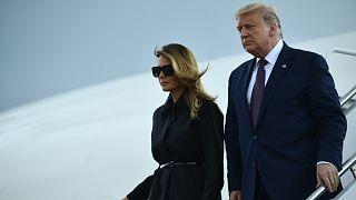 دونالد ترامب وزوجته ميلانيا