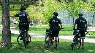 پلیس در کانادا (عکس تزئینی است)