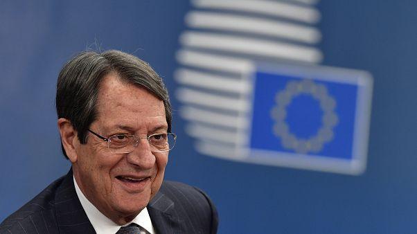Ο Πρόεδρος της Κυπριακής Δημοκρατίας Νίκος Αναστασιαδης