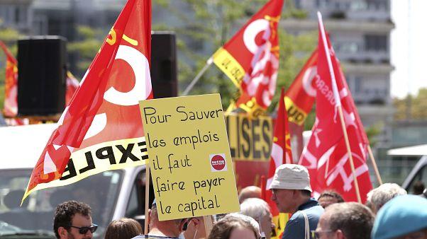Manifestation contre le plan social chez Airbus le 9 juillet dernier