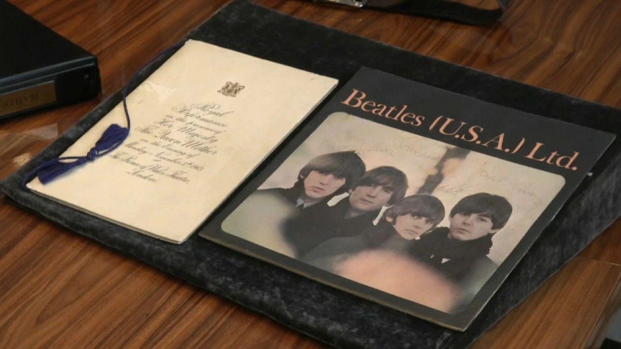Beatles tárgyak a Sotheby's árverésén