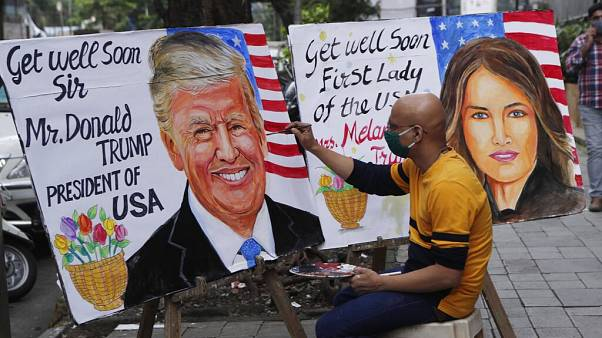 Мировые лидеры желают Трампу и его супруге скорейшего выздоровления