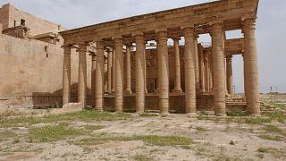 آثار مدينة الحضرة في العراق - ويكيميديا