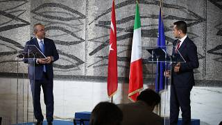 Dışişleri Bakanı Mevlüt Çavuşoğlu Roma'da İtalyan mevkidaşı Luigi Di Maio ile görüştü.