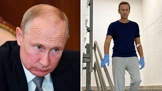 Навальный заявил, что за его отравлением стоит Путин и других версий у него нет