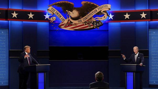 ABD Başkan adayları Donald Trump ve Joe Biden'in karşı karşıya canlı yayın tartışmasıyla ilişkili 11 Covid-19 vakasına rastlandı.