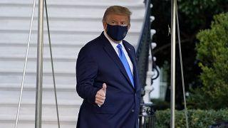 Trump se somete a una terapia experimental contra la COVID-19 tras ser ingresado en un hospital