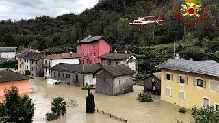 В Италии и Франции ищут десятки людей, пропавших без вести в результате наводнений