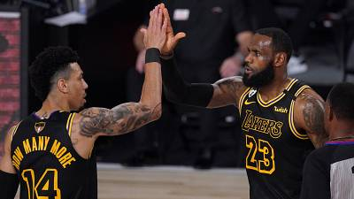 Video: Lakers take charge of NBA Finals with big win over Miami