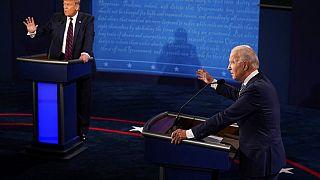 Başkan adayı Biden ve Başkan Trump