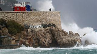 Fransa fırtına