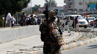 افغانستان (عکس تزئینی از یک نیروی امنیتی)