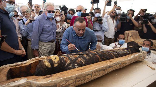 Mısır Tarihi Eserler Bakanı Halid el-Anani