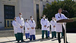 L'hôpital où est Donald Trump près de Washington
