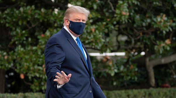 Donald Trump escreve pelo Twitter estar bem e médicos confirmam