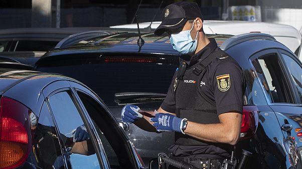 Kontrolle in Madrid