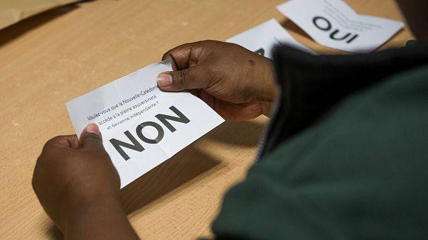 Les Calédoniens auraient voté en majorité contre l'indépendance
