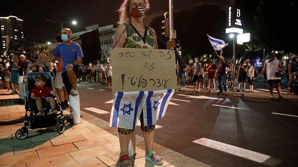 Israel: Wieder Zehntausende gegen Benjamin Netanyahu