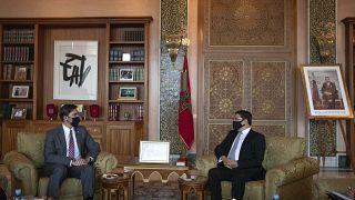 زار وزير الدفاع الأميركي مارك إسبر المغرب وتونس قبل سفره إلى الكويت