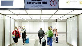 Teststelle in Berlin