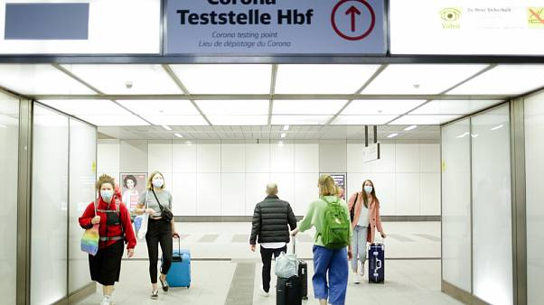 Teststelle in Berlin