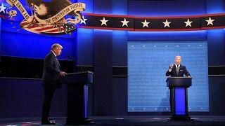 ABD Başkanı Donald Trump ile Demokrat aday Joe Biden