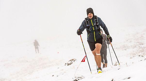 Os atletas tiveram de enfrentar condições extremas e muitos desistiram